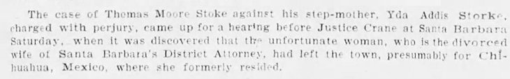 Yda flees for Chihuahua The_Evening_Express_Tue__Aug_16__1898_