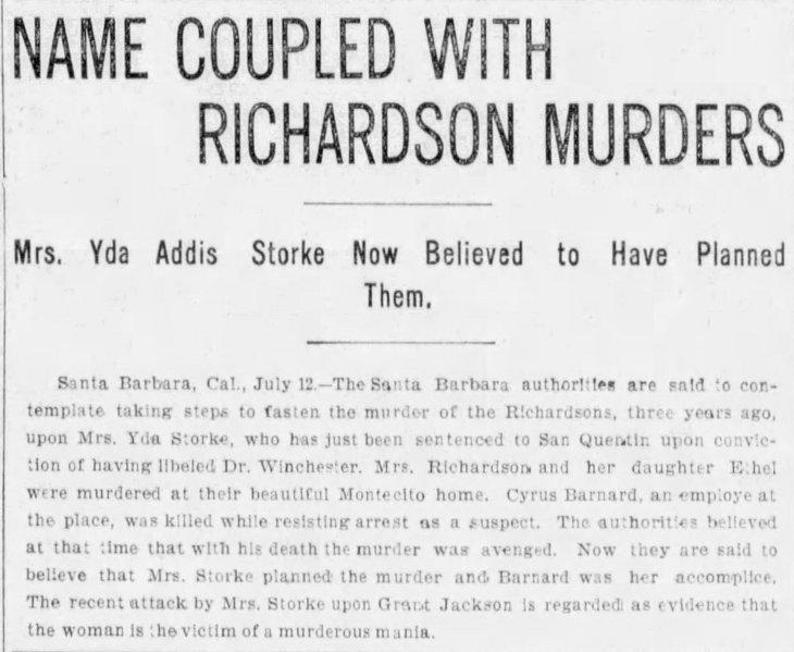 Yda Richardson murders The_Evening_Express_Wed__Jul_12__1899_