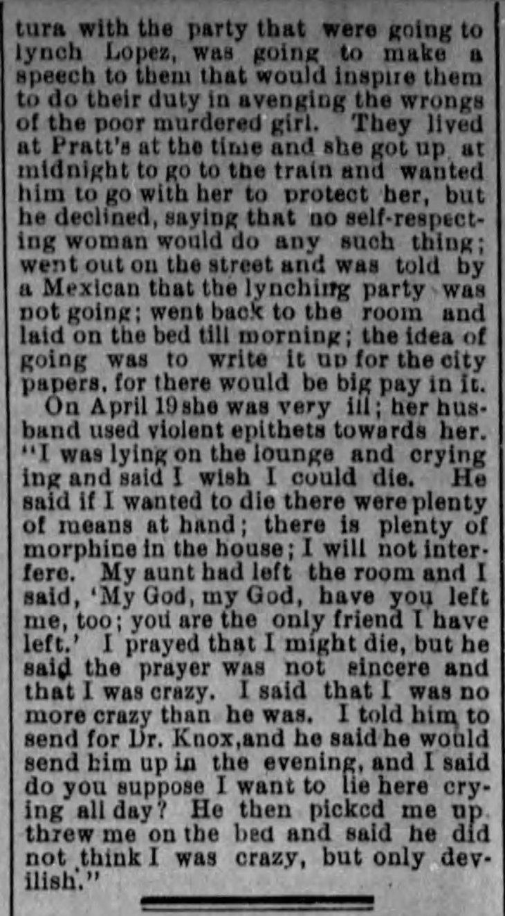 Yda testimony pt 2 The_Evening_Express_Wed__Jan_6__1892_