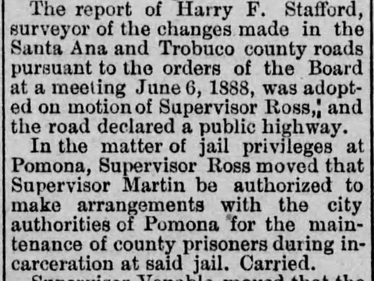 Stafford as county surveyor Los_Angeles_Herald_Sat__Mar_10__1888_