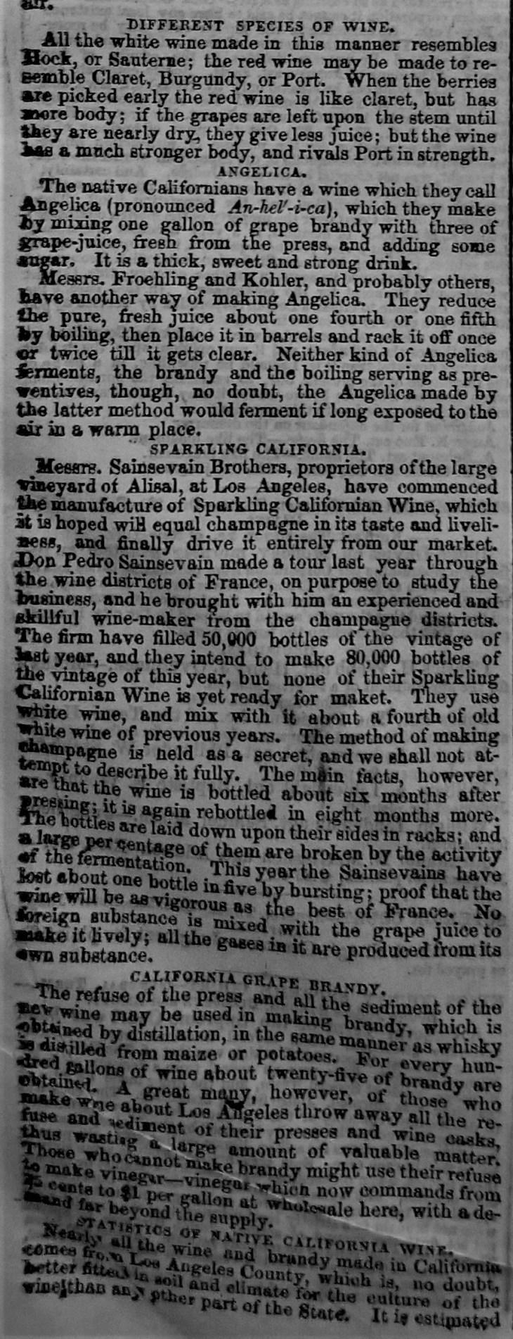 NY Tribune 1857 wine 2