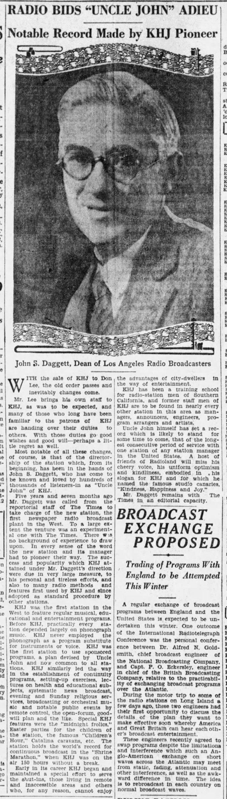 Daggett KHJ sold program ends The_Los_Angeles_Times_Sun__Nov_20__1927_
