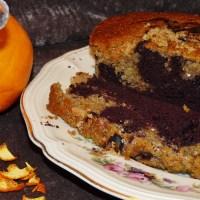 Veganer Orangen-Schoko-Marmorkuchen