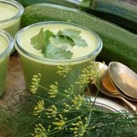 Zucchini-Süppchen: kalt und rohköstlich