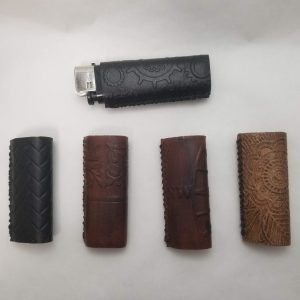 Cigarette Lighter Covers - Leather