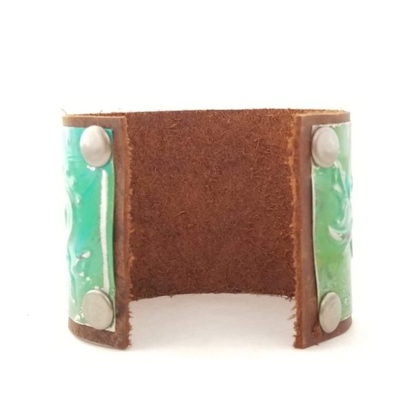 Leather and Metal Cuff