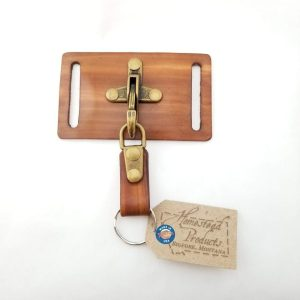 Key Chain with Belt Holster