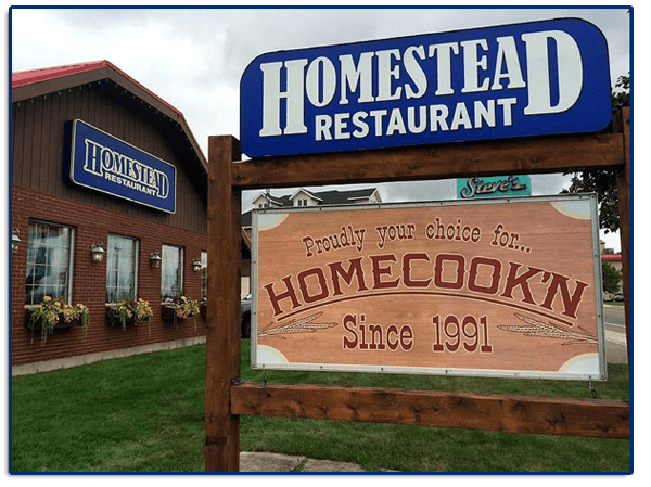 Contact The Homestead Restaurant