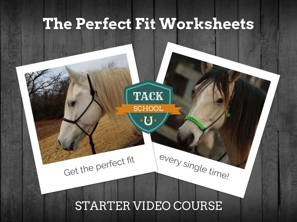 The Perfect Fit Rope Halter Worksheet