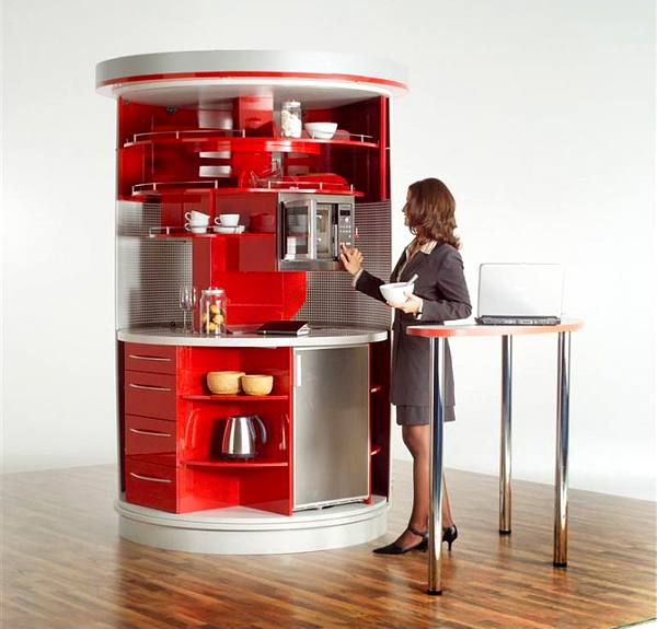 Compact Kitchens For Small Spaces: Contemporary Approach To Kitchen Design: Home Circled