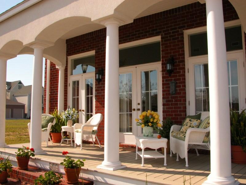 46 Fab Front Porch Ideas Photos | House Front Step Design | Aspen Designer Home | Simple | Mansion | Curved | Entrance Home