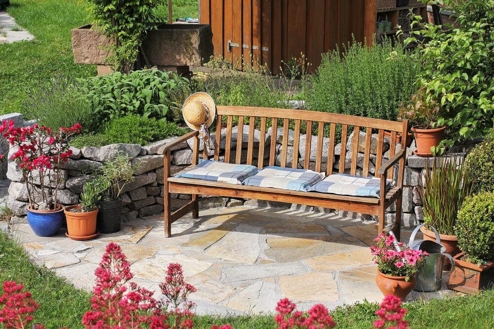 60 Garden Bench Ideas Photos