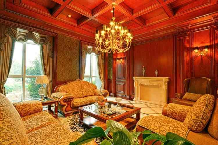 40 Red Living Room Ideas Photos