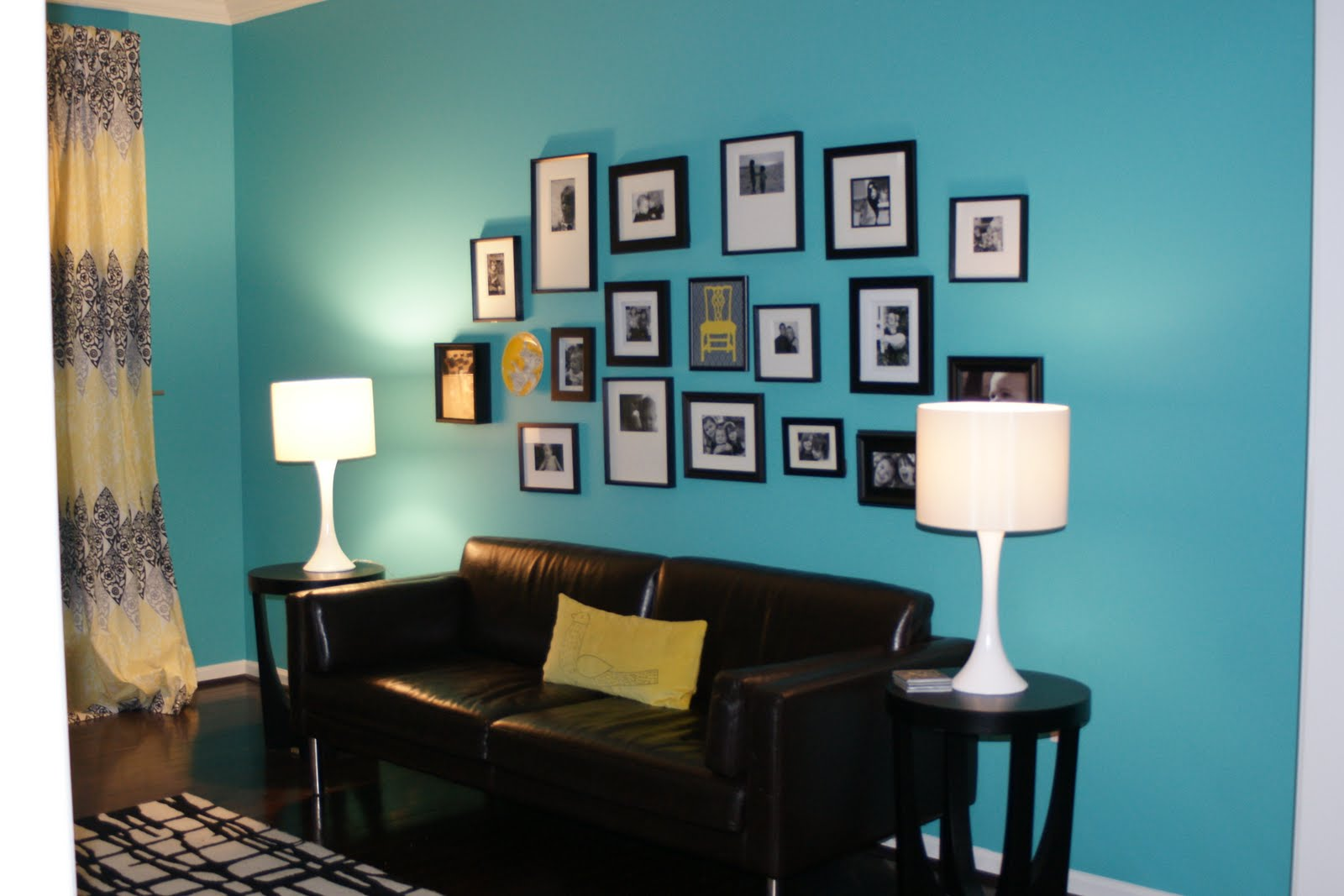 Bright Turquoise Paints Home Trendy