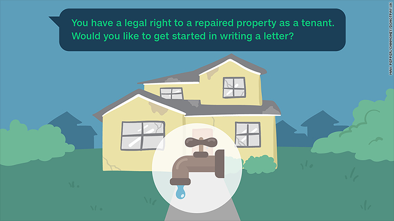 The chatbot that will force your landlord to fix a leaky tap