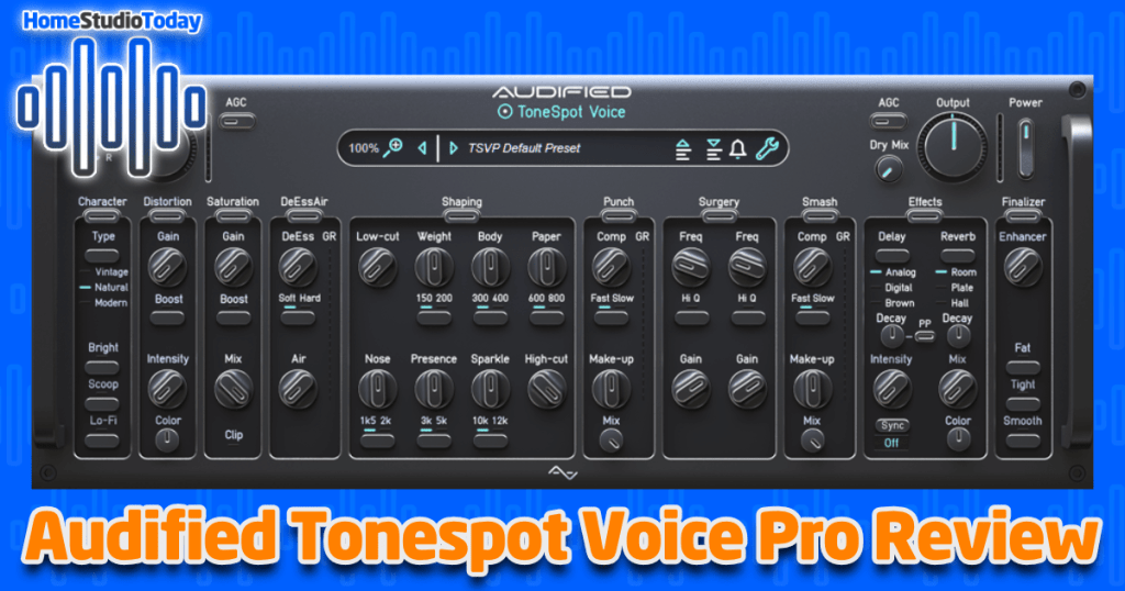 Audified Tonespot Voice Pro Review featured image