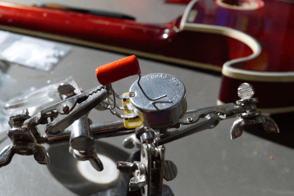 How To Build a Studio Guitar solder