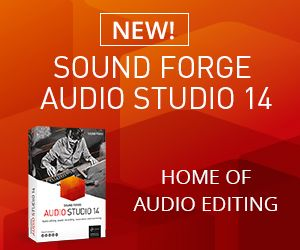 Sound Forge Audio Studio 14