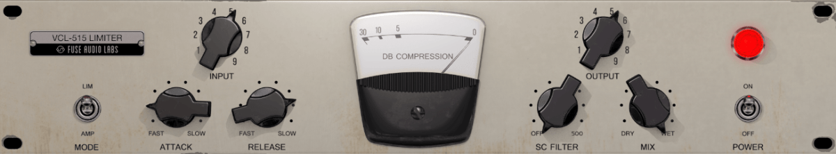 Fuse Audio Labs VCL-515 Review main plugin image