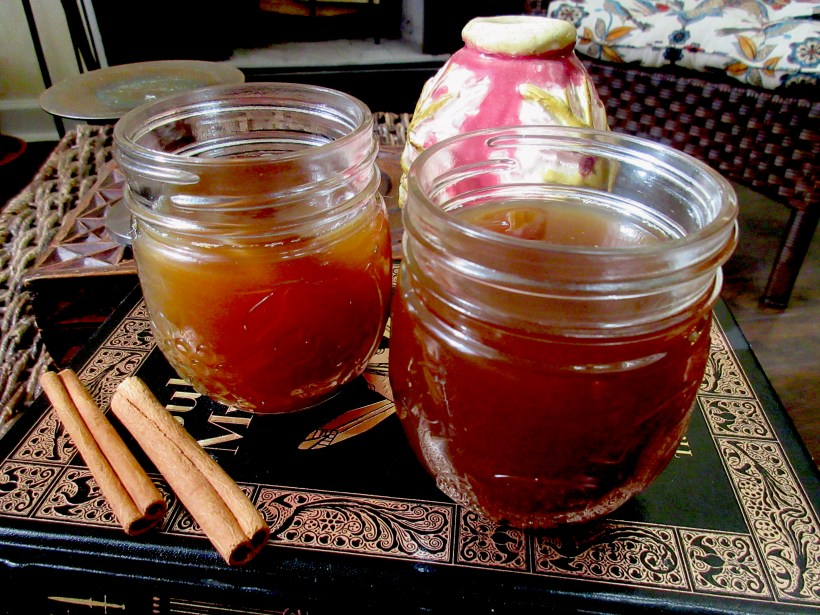 Sujeonggwa (Korean Cinnamon Tea) A
