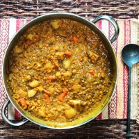 Mung Bean Lentil Curry