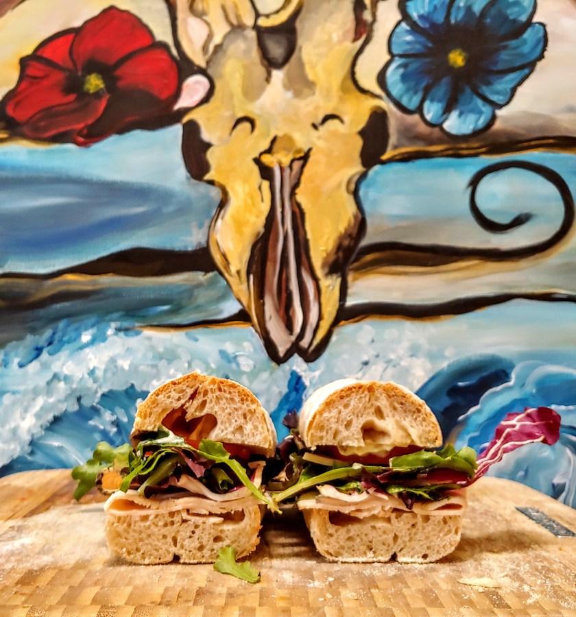 Herb Turkey Sub Sandwich