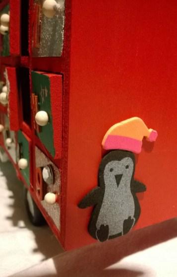 Hobbycraft advent truck penguin