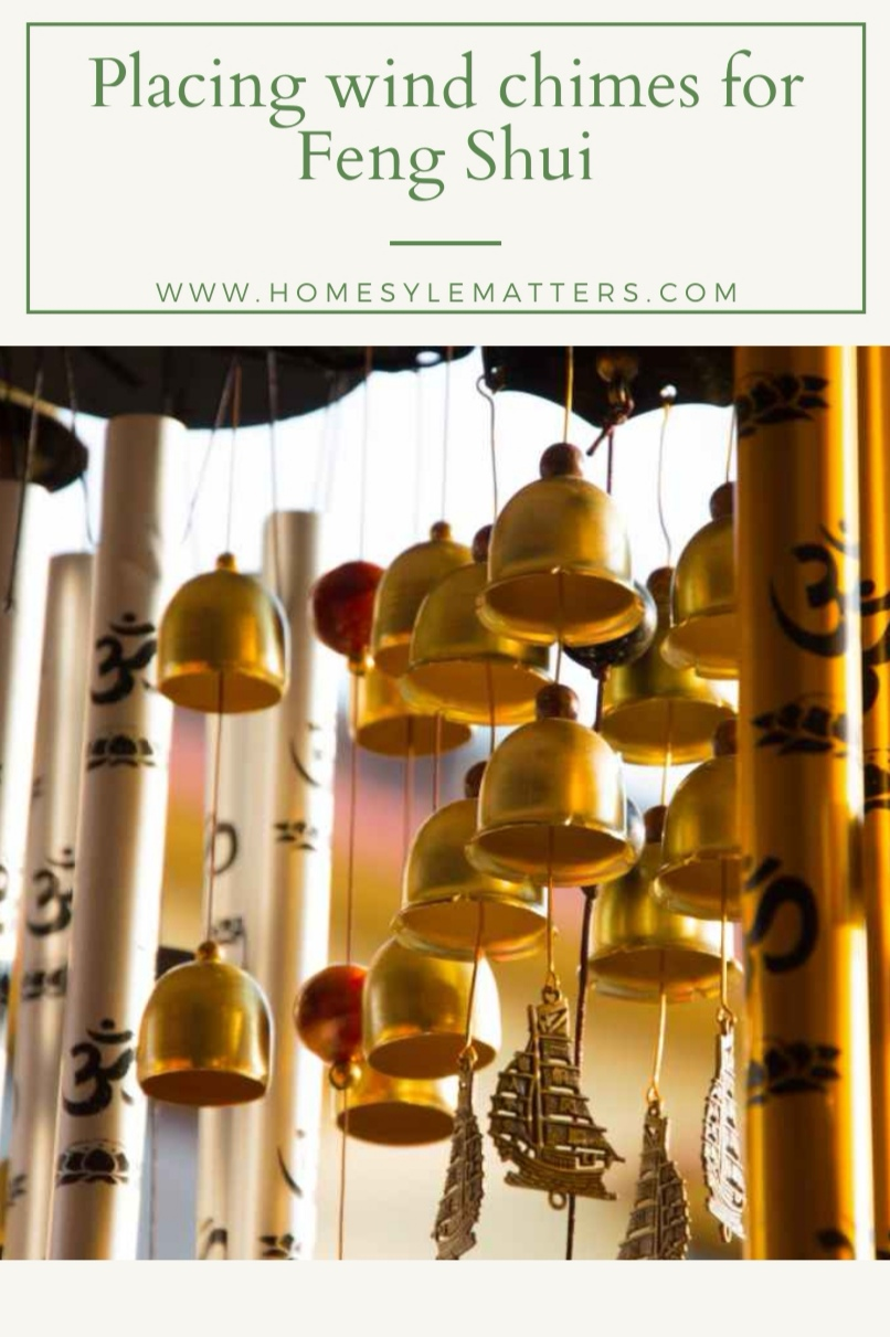 Placing Wind Chimes for Feng Shui 1