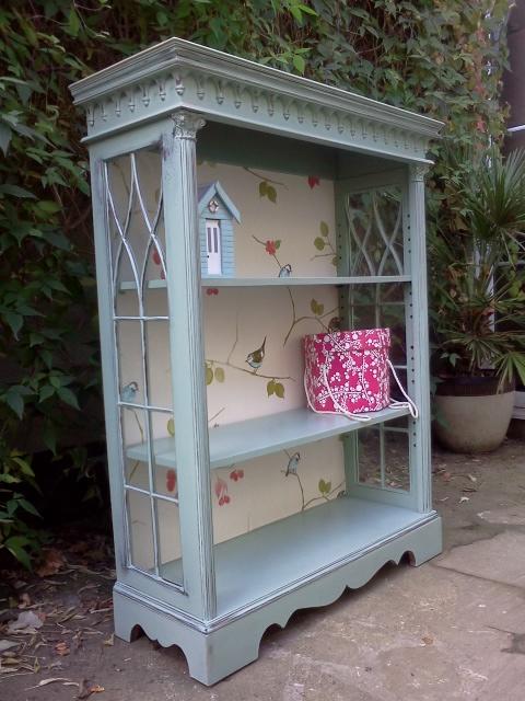 Beautifully Refurbished Ornate Bookcase Home Styles UK