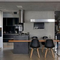 31+ A Secret Weapon For A Matte Black Kitchen Makes A Bold Statement 6