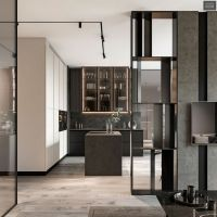+37 The Supreme Approach To Creative Kitchen Black Cabinet Ideas Trend In 2019 1