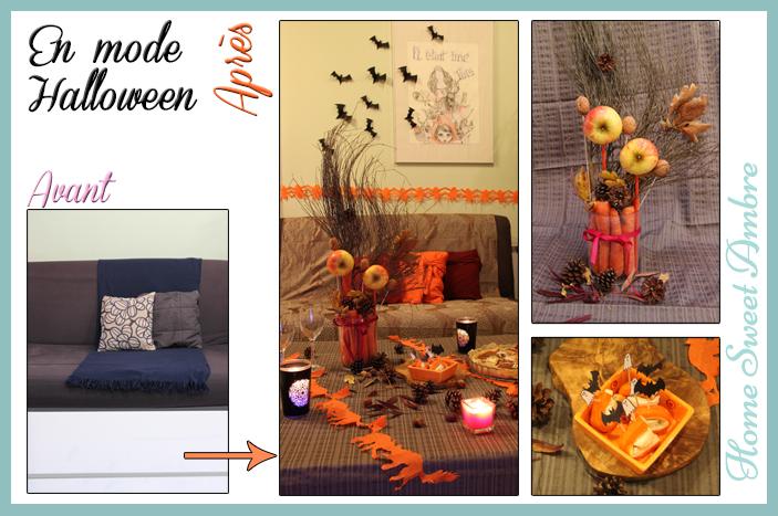 halloween avant après ou comment faire une décoration avec rien 1 - homesweetambre