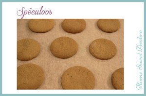 Spéculoos home sweet ambre