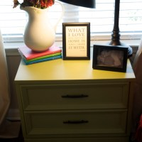 Happiness is Spray Paint {Lamp Update}