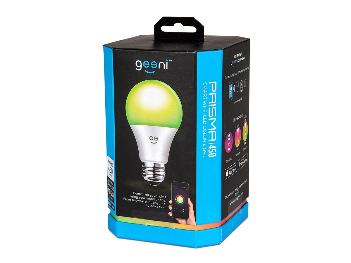 Geeni Prisma 1050 Smart Bulb Review: A Cheap but Limited