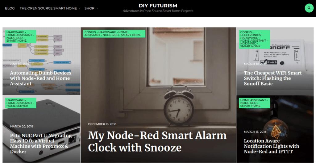 DIY Fururism Smarthome blog