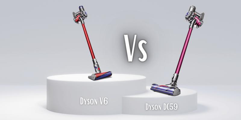Dyson V6 Vs Dyson DC59