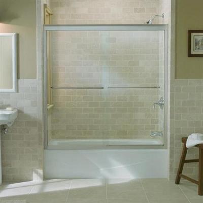 shower doors vs shower curtains
