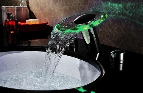 five stunning modern waterfall faucets