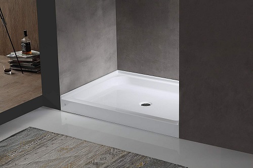 pre made or tile shower floors which