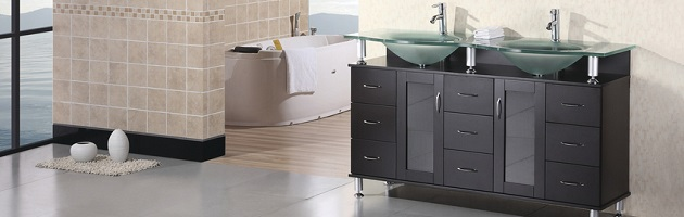 tempered glass vanity tops for a