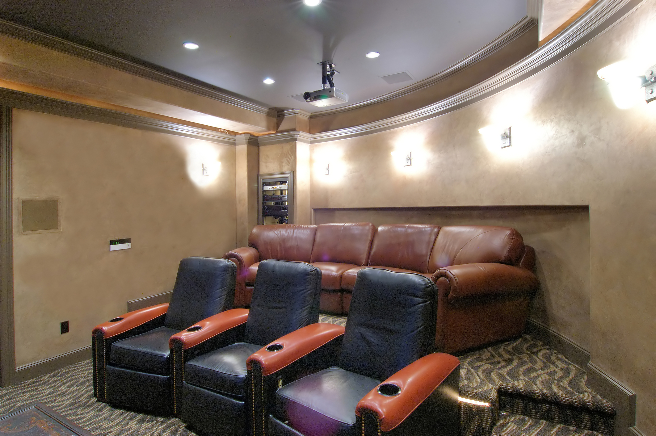Top Six Hot Trends in Home Theater D    cor   Home Theater Experts home theater decor