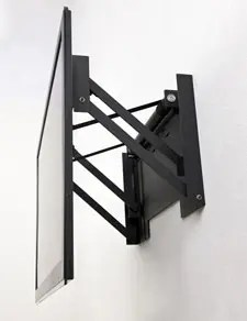 motorized ceiling flip down tv mount uk com