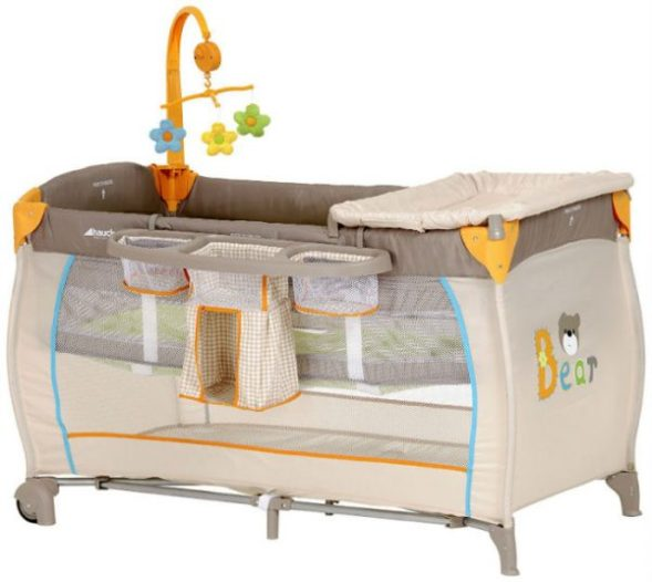 Hauck BabyCenter Travel Cot - Bear Review