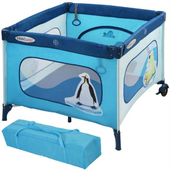 Infantastic Portable Baby Travel Cot Review
