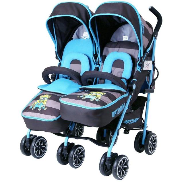 iSafe Twin double buggy review