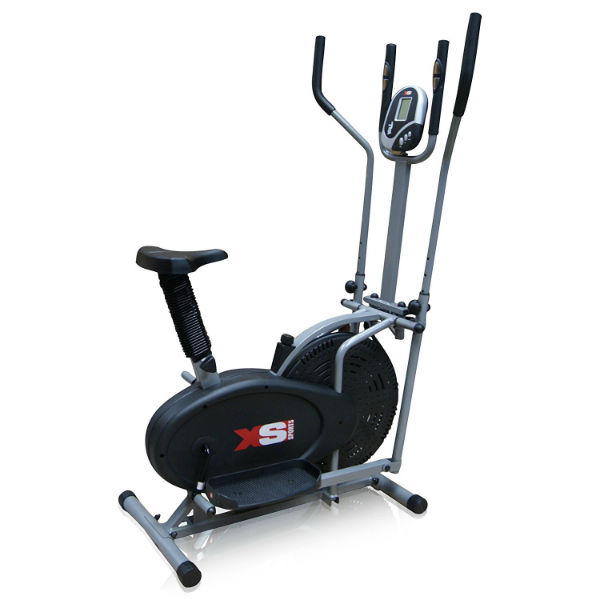 XS Sports Pro 2-in1 Elliptical Cross Trainer Exercise Bike Review