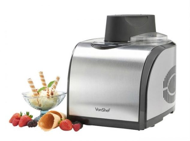 VonShef Professional Fully Automatic Ice Cream Maker Review