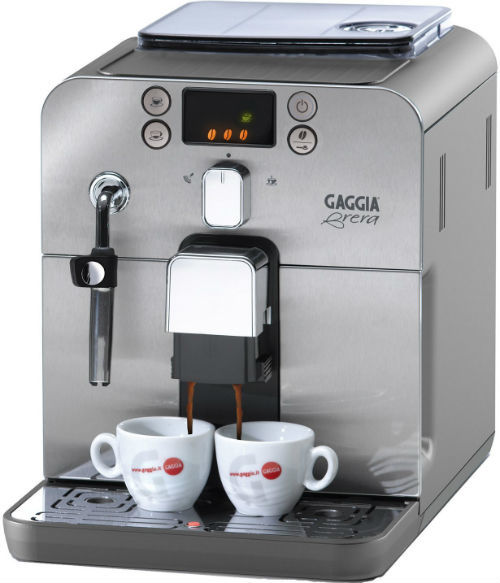 Gaggia Brera Bean to Cup Coffee Machine Review