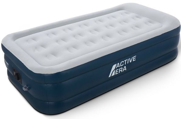 Active Era Single Size Air Bed with a Built-in Electric Pump and Pillow Review